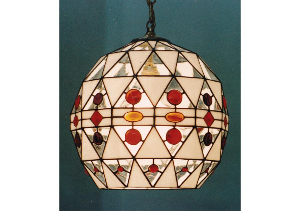 Plafoniere Stile Tiffany : Lampade tiffany vetrate d arte